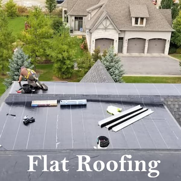 flat roofing services icon