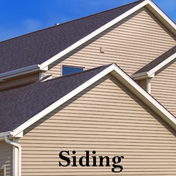 Siding repair and installation services