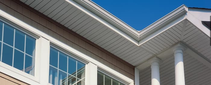 Soffit repair is an option if after a visual inspection there is minor damage