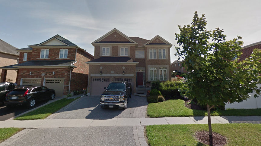 roof replacement on a residential home in Oshawa